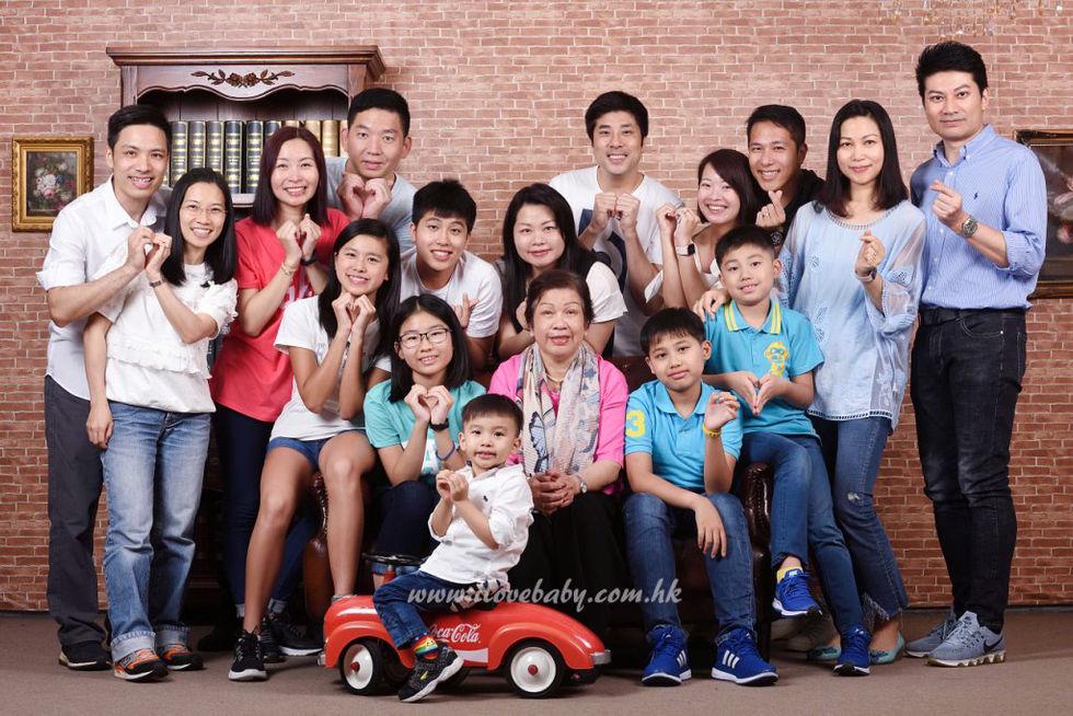 家庭相 Family Photo