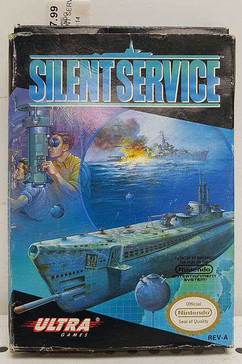 Silent Service w box and manual