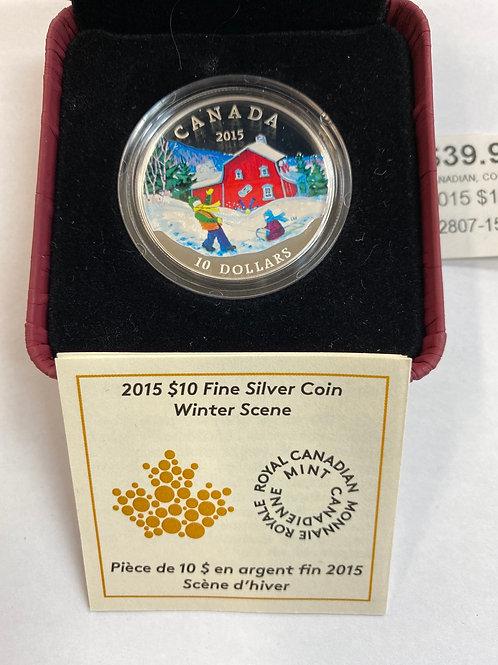 2015 Fine Silver Coin