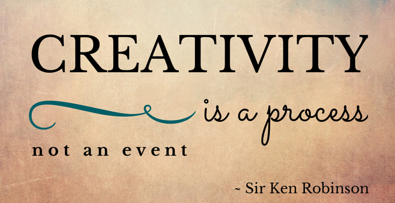 Creativity is a Process, Not an Event
