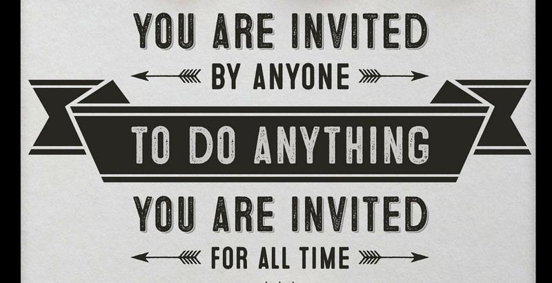 #LyricalMotivation: You Are Invited