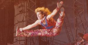 David Lee Roth jumping