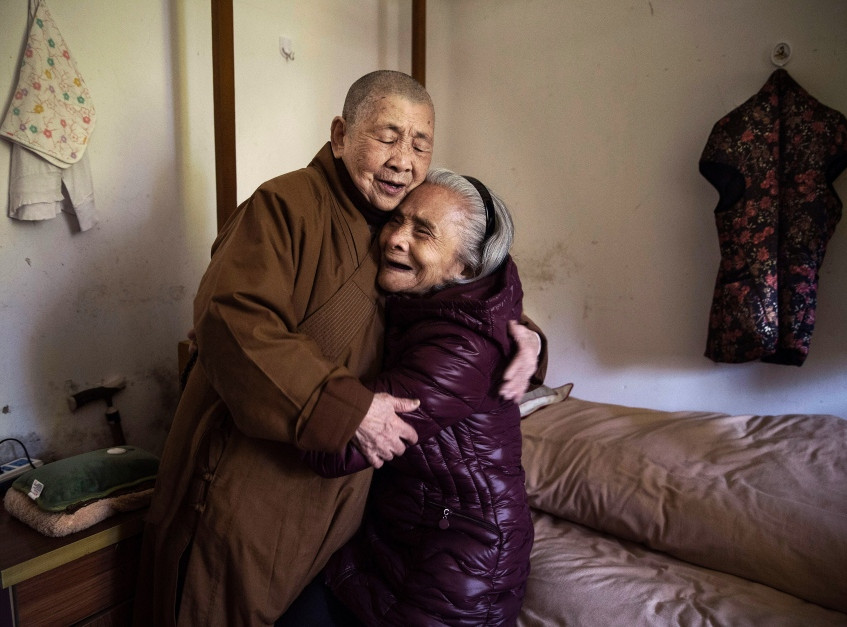 Нэн Цин и Ло Юйди (обоим 81 год)