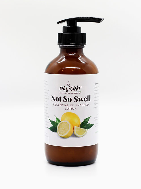 Not So Well   Essential Oil-Infused Lotion