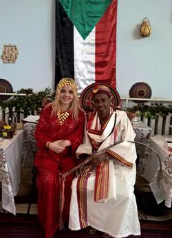 Sudanese-bridal-costume