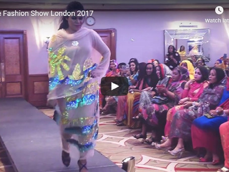 Nile Fashion Show London 2017 in association with shamanpr.org.......