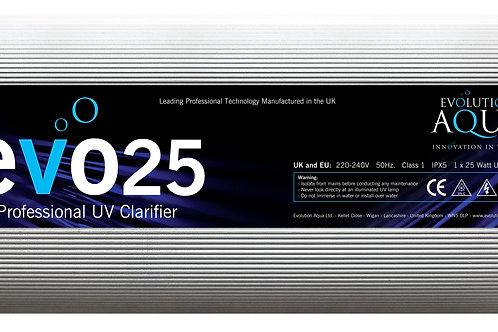 EVO 25 Watt UV Clarifier/Sterilizer