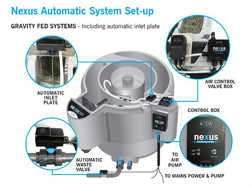 NEXUS AUTOMATIC SYSTEM for GRAVITY SET UP (200 body)