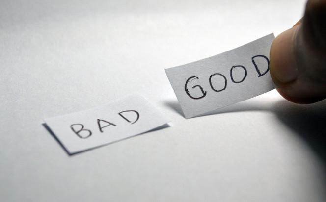 Good decisions, bad decisions
