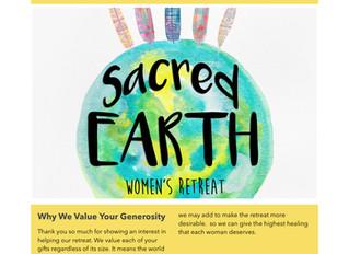 Giving Abundance for the Sacred Earth Women's Retreat