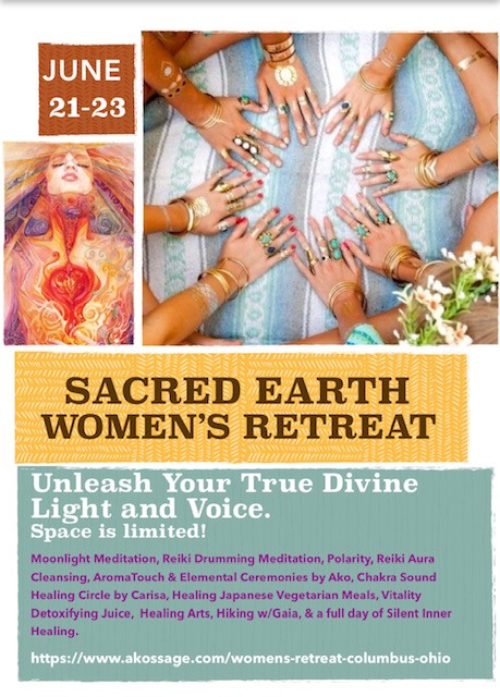 Don't Miss Our Annual Sacred Earth Women's Retreat