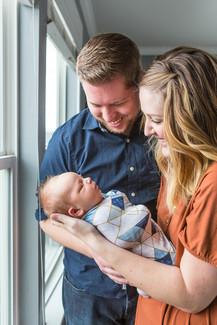 Newborn lifestyle pictures in Utah