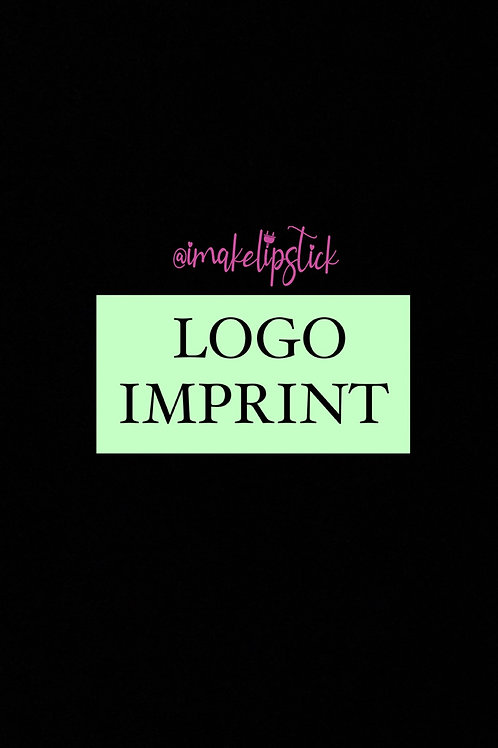 LOGO IMPRINT (UP TO 200 PCS) FLAT RATE