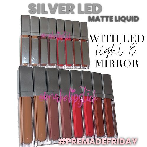 Spring Silver LED MATTE Bundle (8pcs)