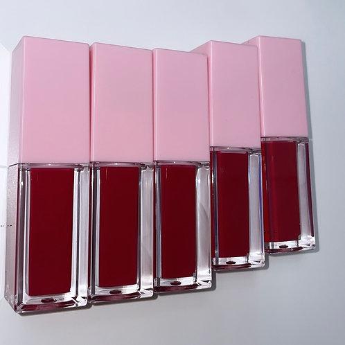 Pink Shorties BIG wand Regal Red Lipglass (5pack)