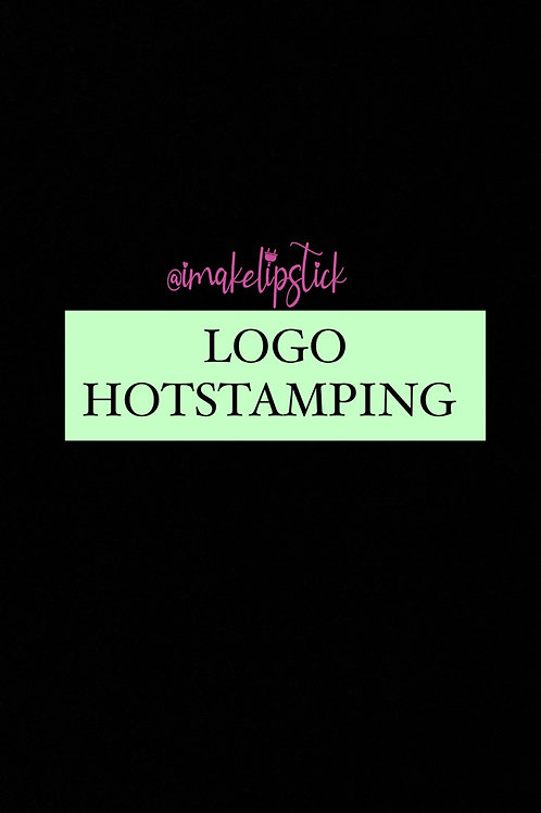 HOT STAMPING (UP TO 200 PCS) FLAT RATE