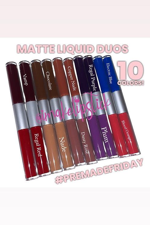 Matte Liquid Duos (10pk)