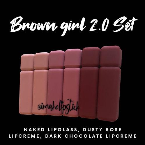Brown girl 2.0 Set