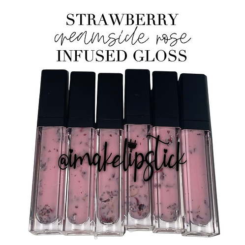 Strawberry Creamsicle Rose Infused Gloss (6 pack)