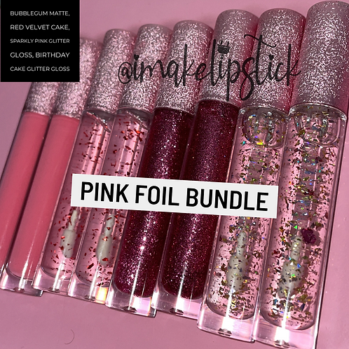 Pink Foil Bundle (8pcs)