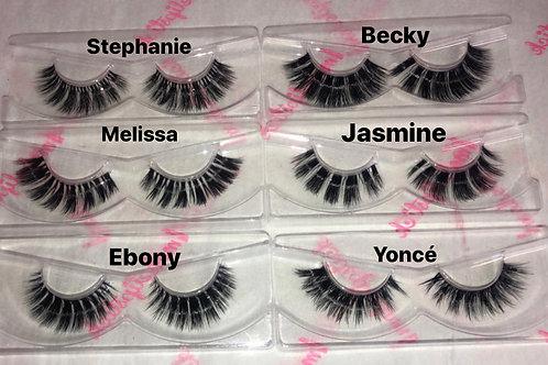 Eyelash Samples (Set)