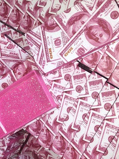 PINK MONEY LASH PACKAGE (15)