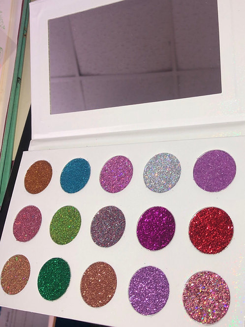 Glitter Eyeshadow Palette Package (6)