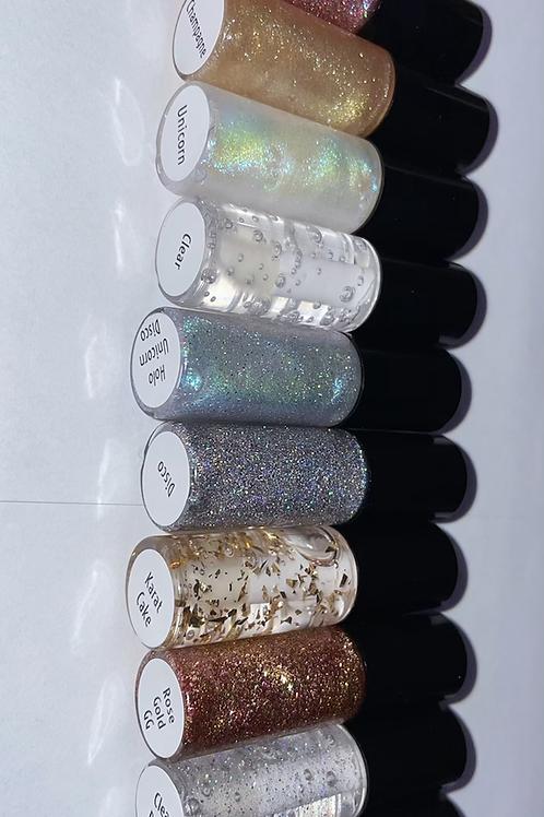 Lip Gloss & Glitter Gloss Sample