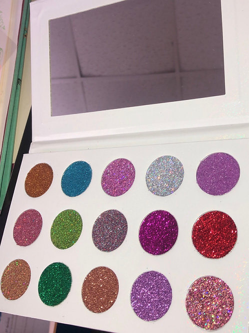 Glitter Eyeshadow Palette Sample