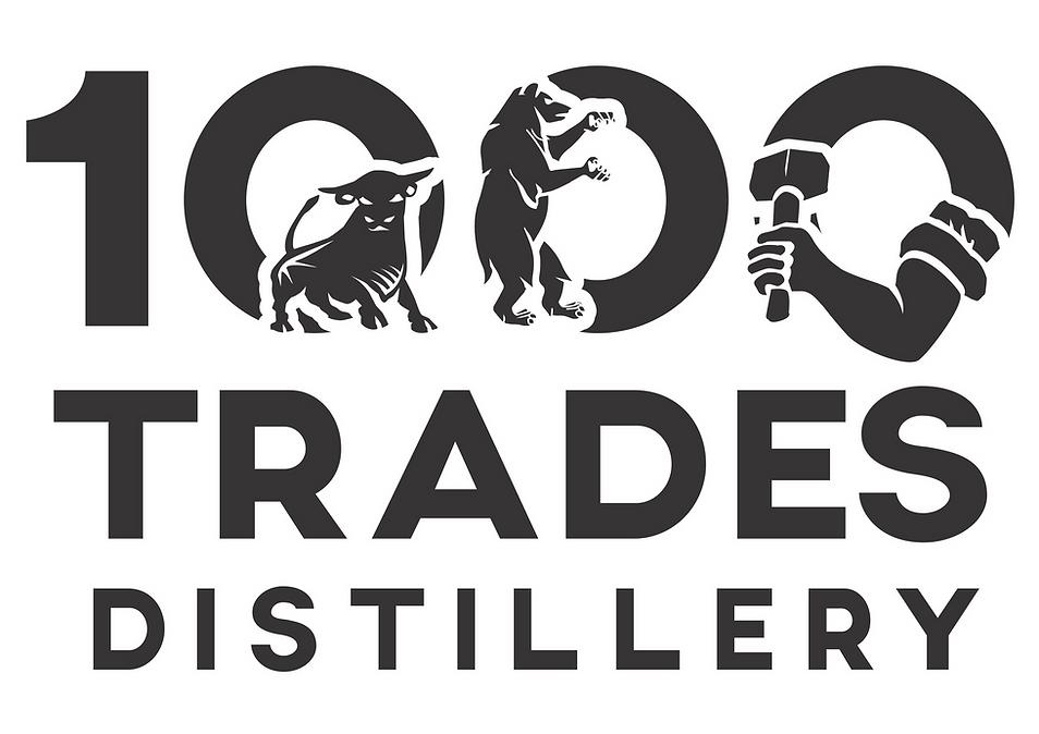 1000 Trades Distillery Logo translucent.