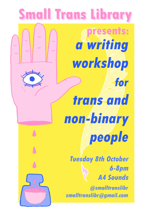Small Trans Library poster