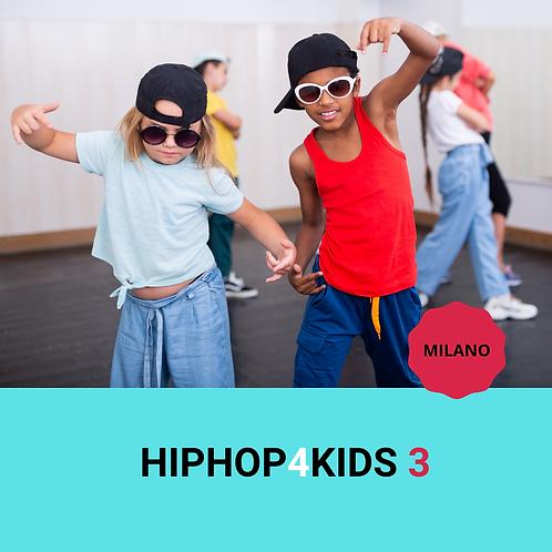 HIPHOP4KIDS 3  milano  22/05/2021