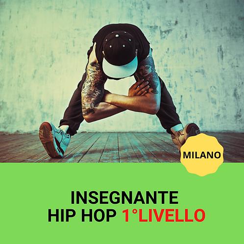 INSEGNANTE HIP HOP 1°LIVELLO milano 08-09/05/2021