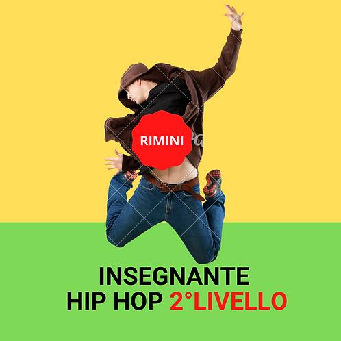 INSEGNANTE HIP HOP 2°LIVELLO rimini 19-20/06/2021