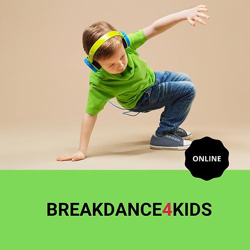 BREAKDANCE4KIDS online 29/05/2021