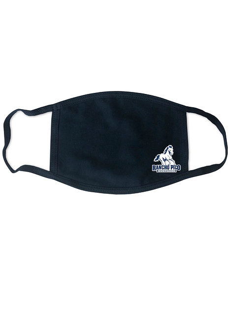 Rancho Pico Face Mask in Navy with Small Logo