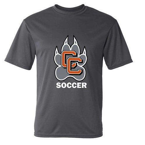 Castaic Soccer Performance T-Shirt with Paw