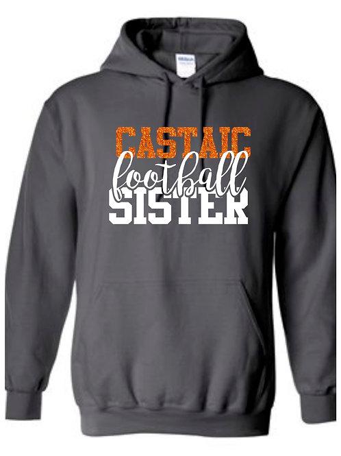 Castaic Football Sister Hoodie