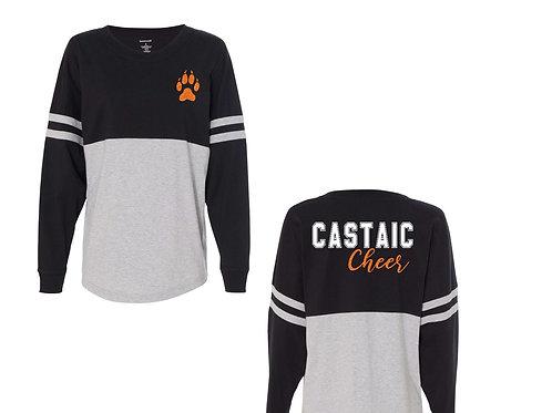 Castaic Cheer Long Sleeve Pom Jersey
