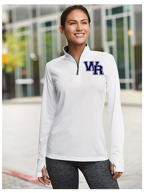 WR Quarter Zip Pullover Long Sleeve