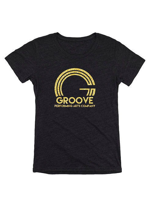 Groove Flirty Crew Neck Tee Shirt