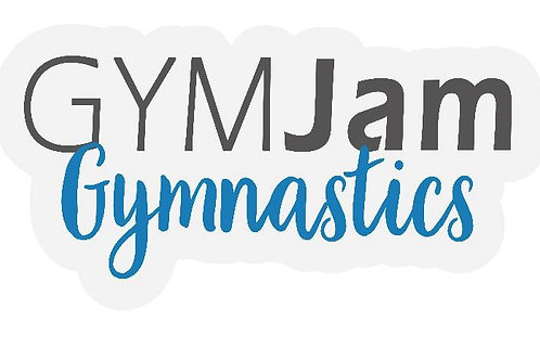 GYMJAM Gymnastics Sticker