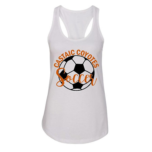 Castaic Soccer Tank with Ball