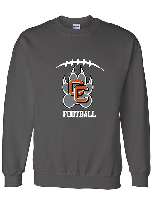 Castaic Football Heavy Blend Crew Neck Sweatshirt
