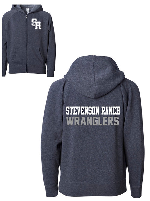 Stevenson Ranch Zip Hoodie in Midnight (Navy)