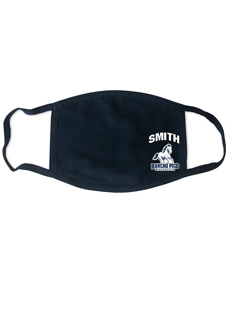 Rancho Pico Face Mask with Logo & Personalization