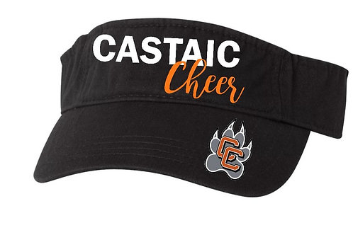 Castaic Cheer Visor