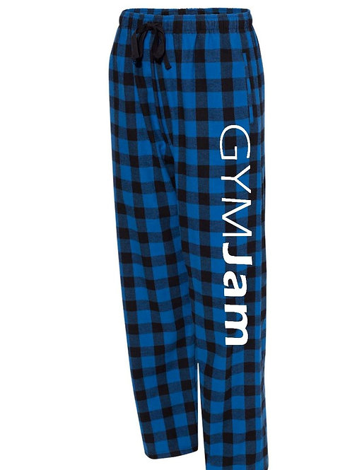 Wallers' Unisex Buffalo Plaid Flannel PJ Bottoms