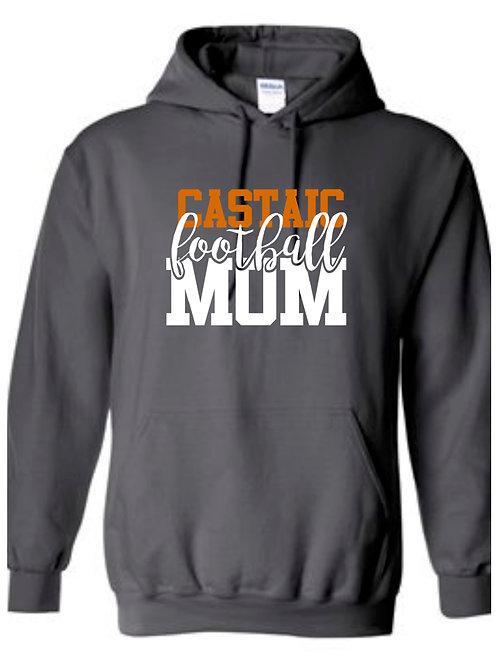 Castaic Football Mom Hoodie