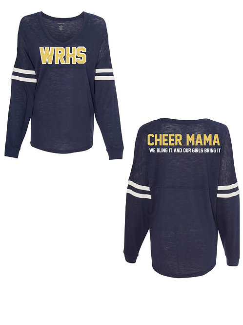 WRHS Cheer Mama Long Sleeve Shirt